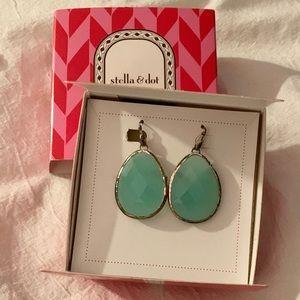 Stella & Dot Serenity Stone Earrings